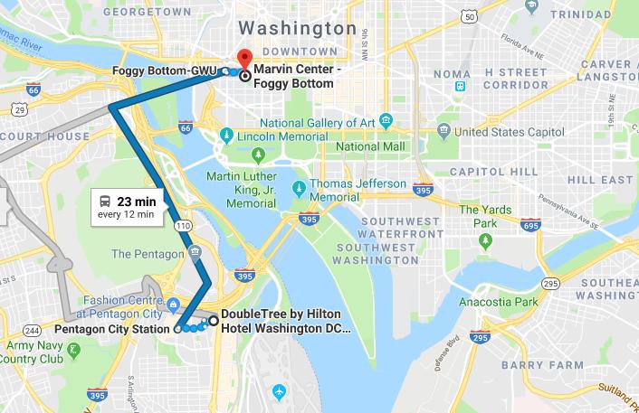 DC Venue & Hotel Locations