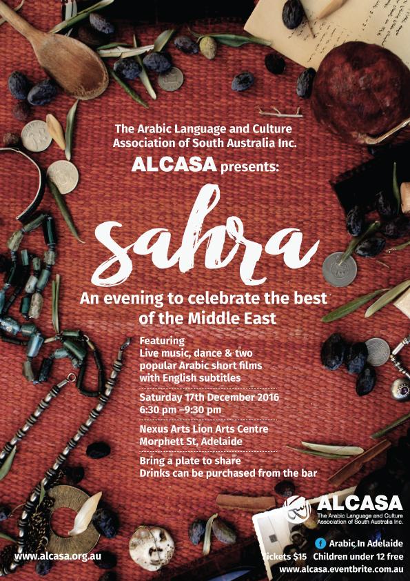 ALCASA 2016 Sahra