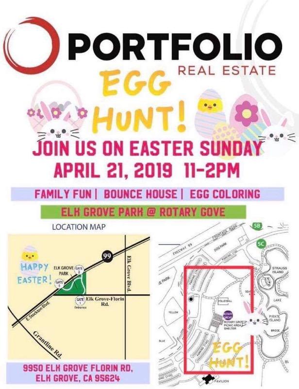 Portfolio Easter Egg Hunt