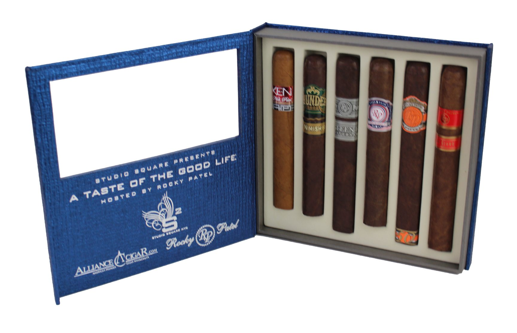Six Cigar Case