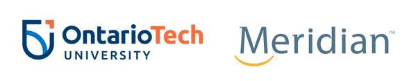 Ontario Tech University Logo and Meridian Logo