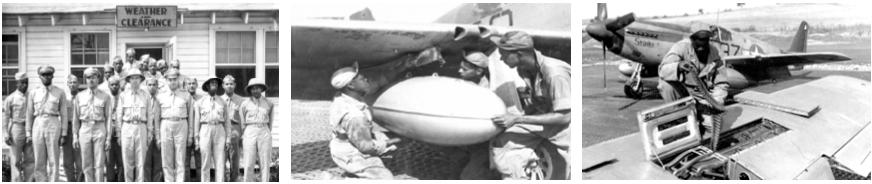 Tuskegee Airmen Support Ground Crew