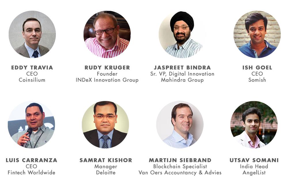 India Blockchain Week Speakers