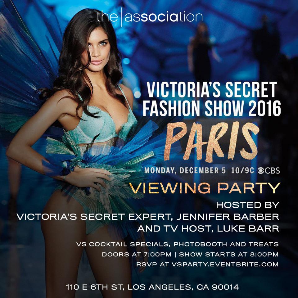 Victoria's Secret Fashion Show Viewing Party Tickets, Mon, Dec 5 ...