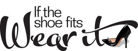 Shoe fashion logos - Tricksy Thursdays If The Shoe Fits