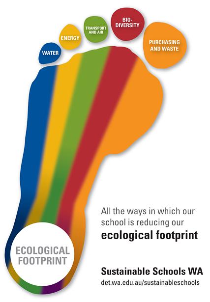 Ecological footprint and social handprint