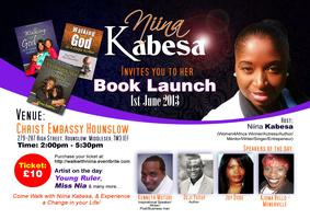 Niina Kabesa official book Launch