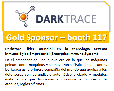 DarkTrace Gold Sponsor