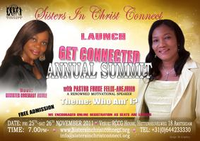 Get Connected Annual Summit with Pastor Funke Felix-Adejumo