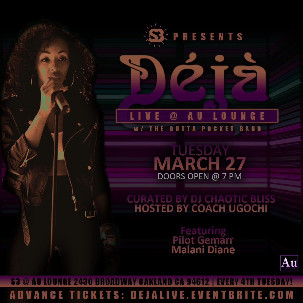 Deja Live at Au Lounge