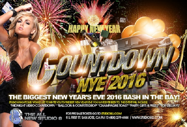 Countdown to NYE at Studio 8