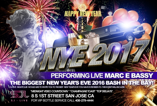 Marc E Bussy New Year's Eve