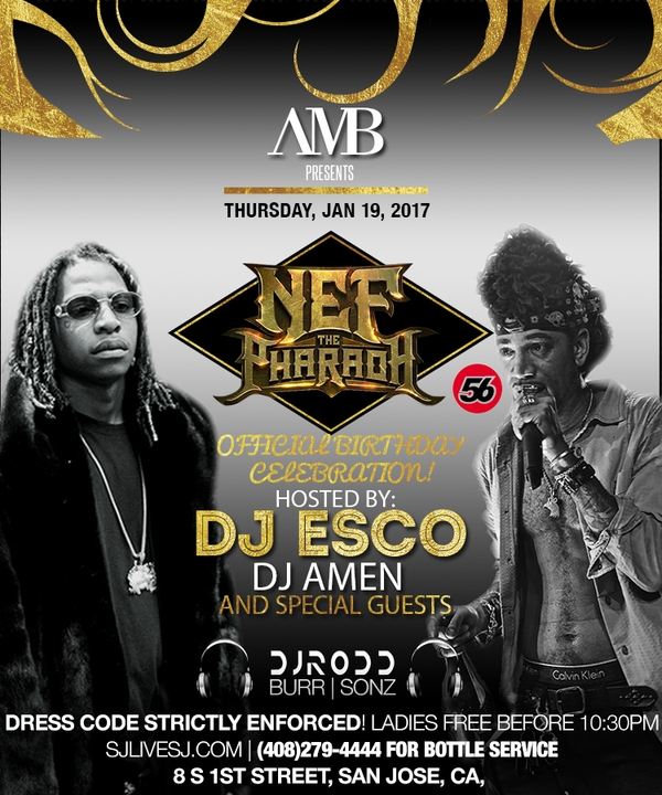 Nef the Pharaoh Official Birthday Celebration