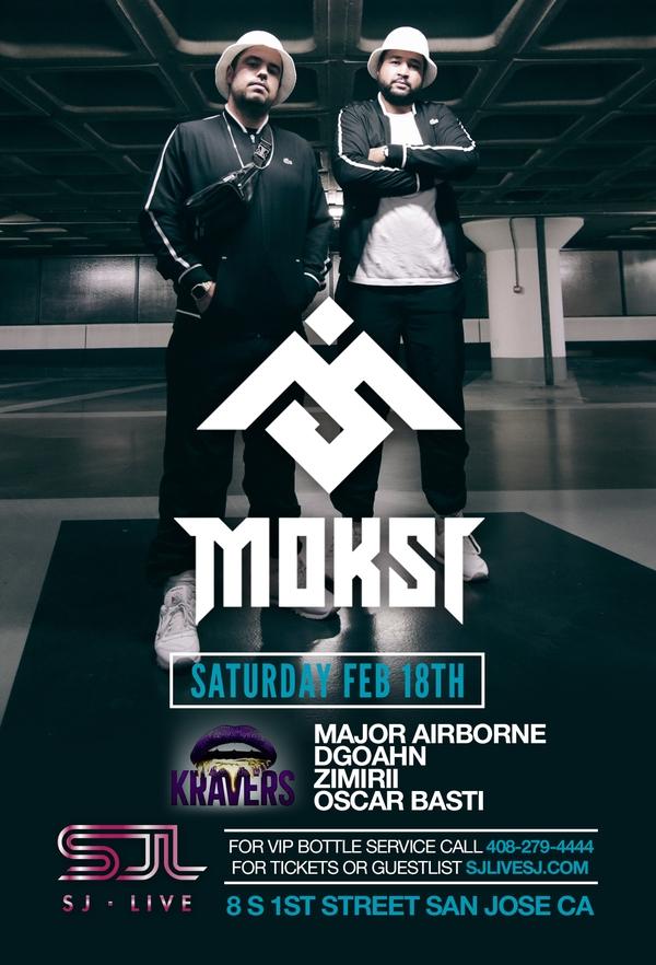 Moski Live in San Jose at SJ Live