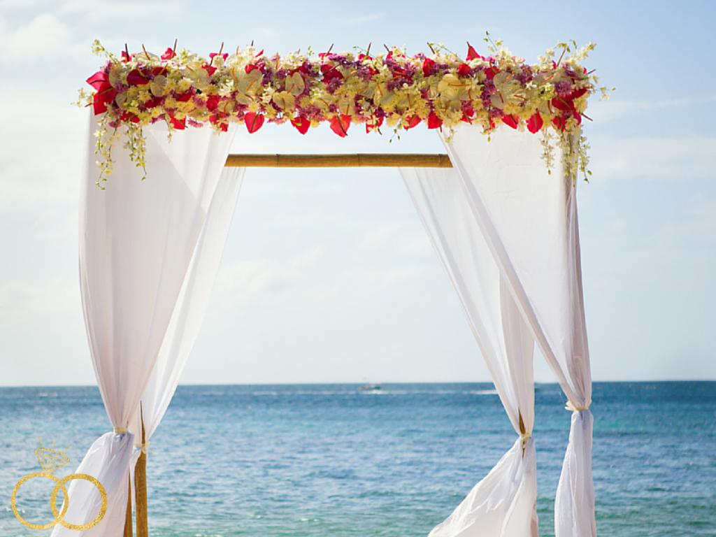 Anna Maria Island Wedding Beach Flowers