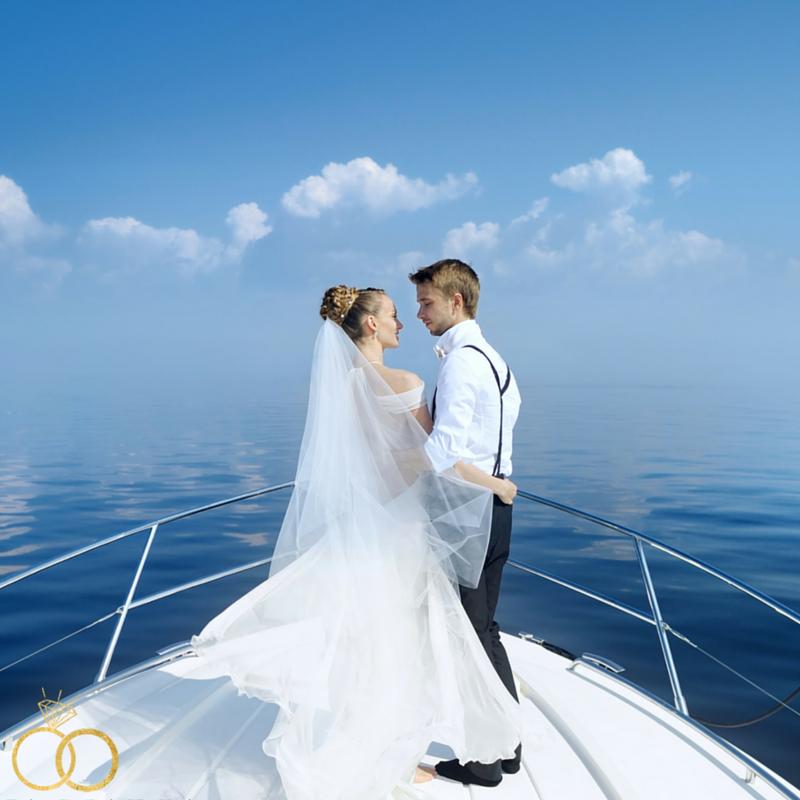 Anna Maria Island Love Wedding Show sailboat