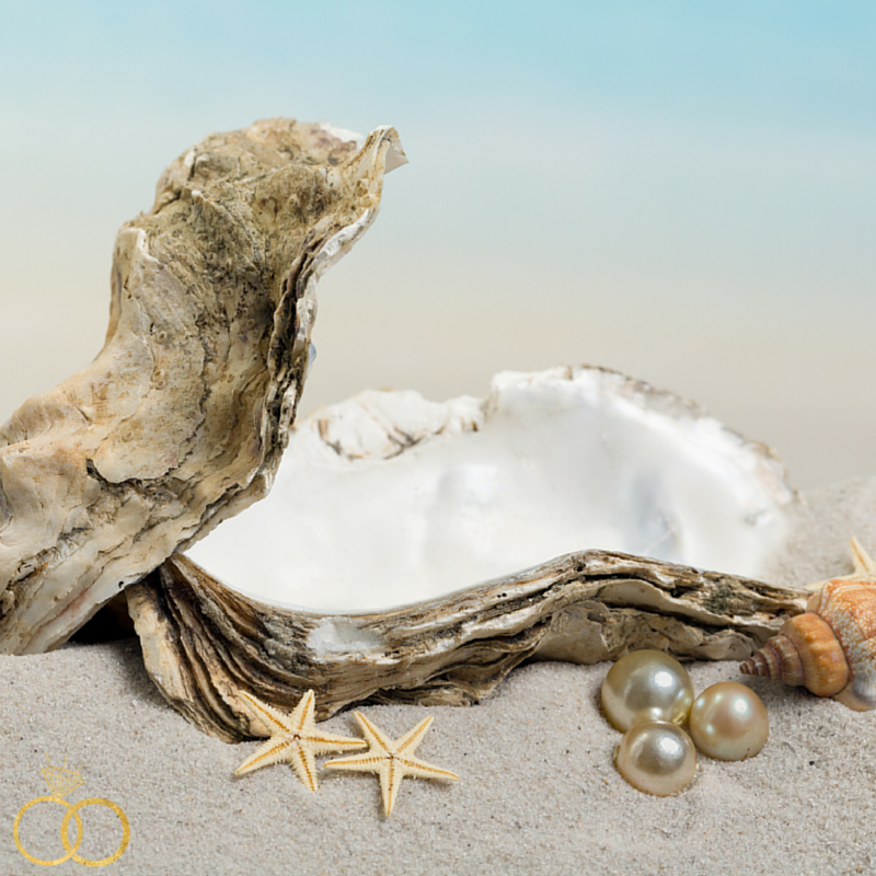 Pick-A-Pearl for VIP guests Anna Maria Wedding Show