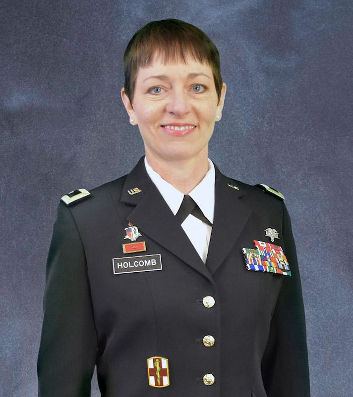 Major General Barbara Holcomb