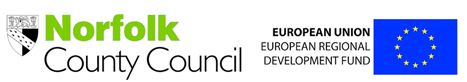 european-regional-development-fund and Norfolk County Council