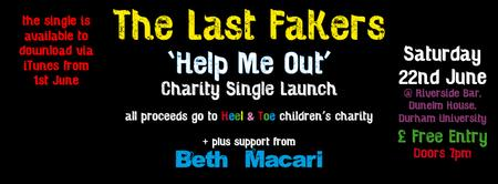 The Last Fakers Charity Single Launch Gig