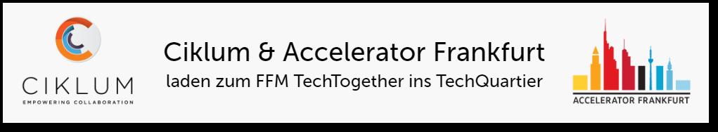 Ciklum und Accelerator Frankfurt laden zum TechTogether