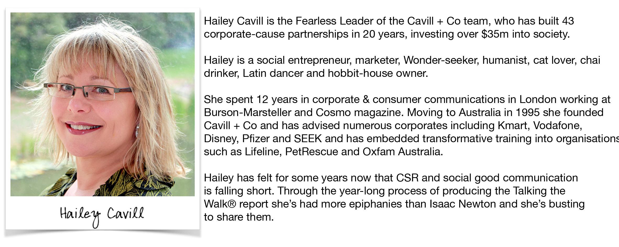 Hailey Cavill