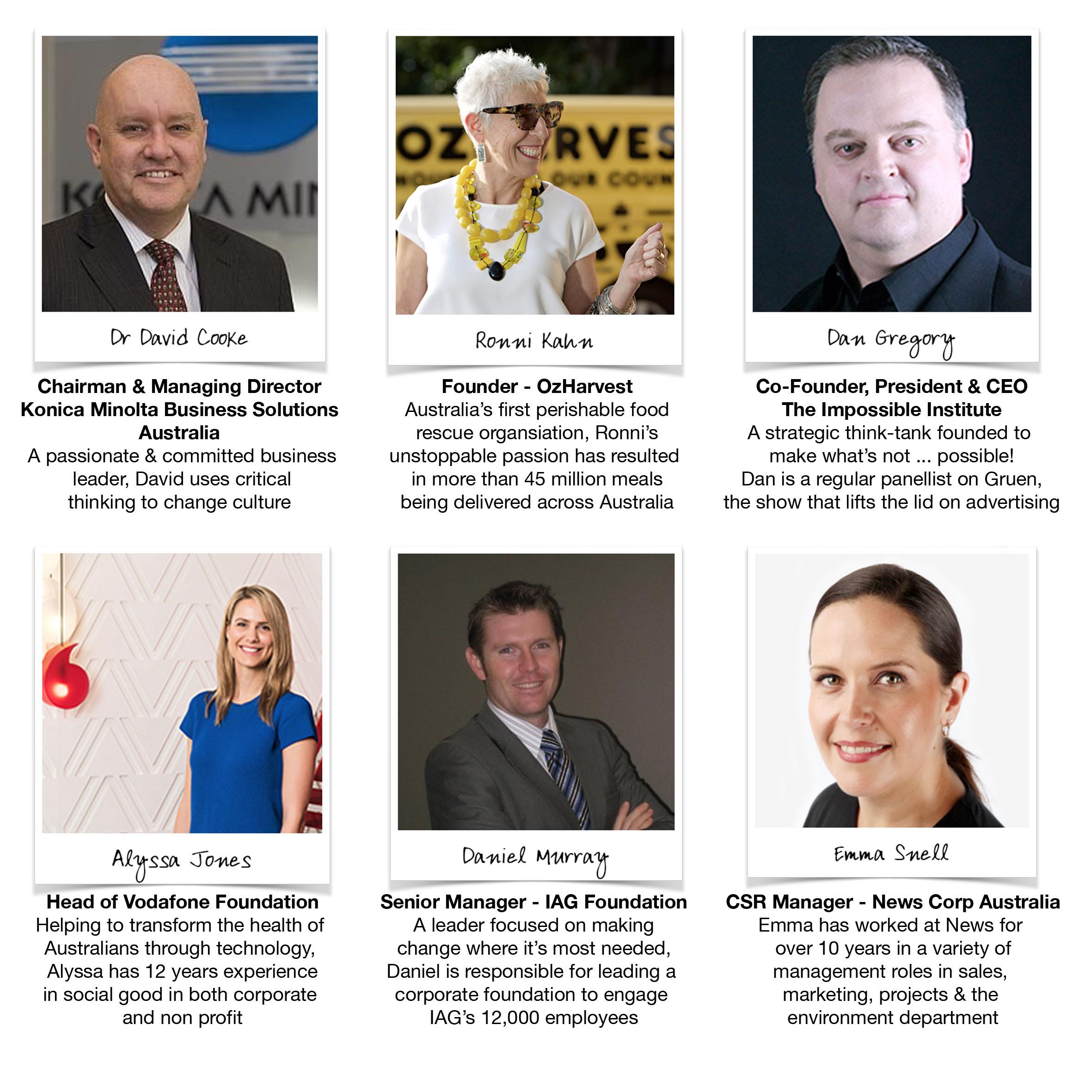 Sydney Panellists