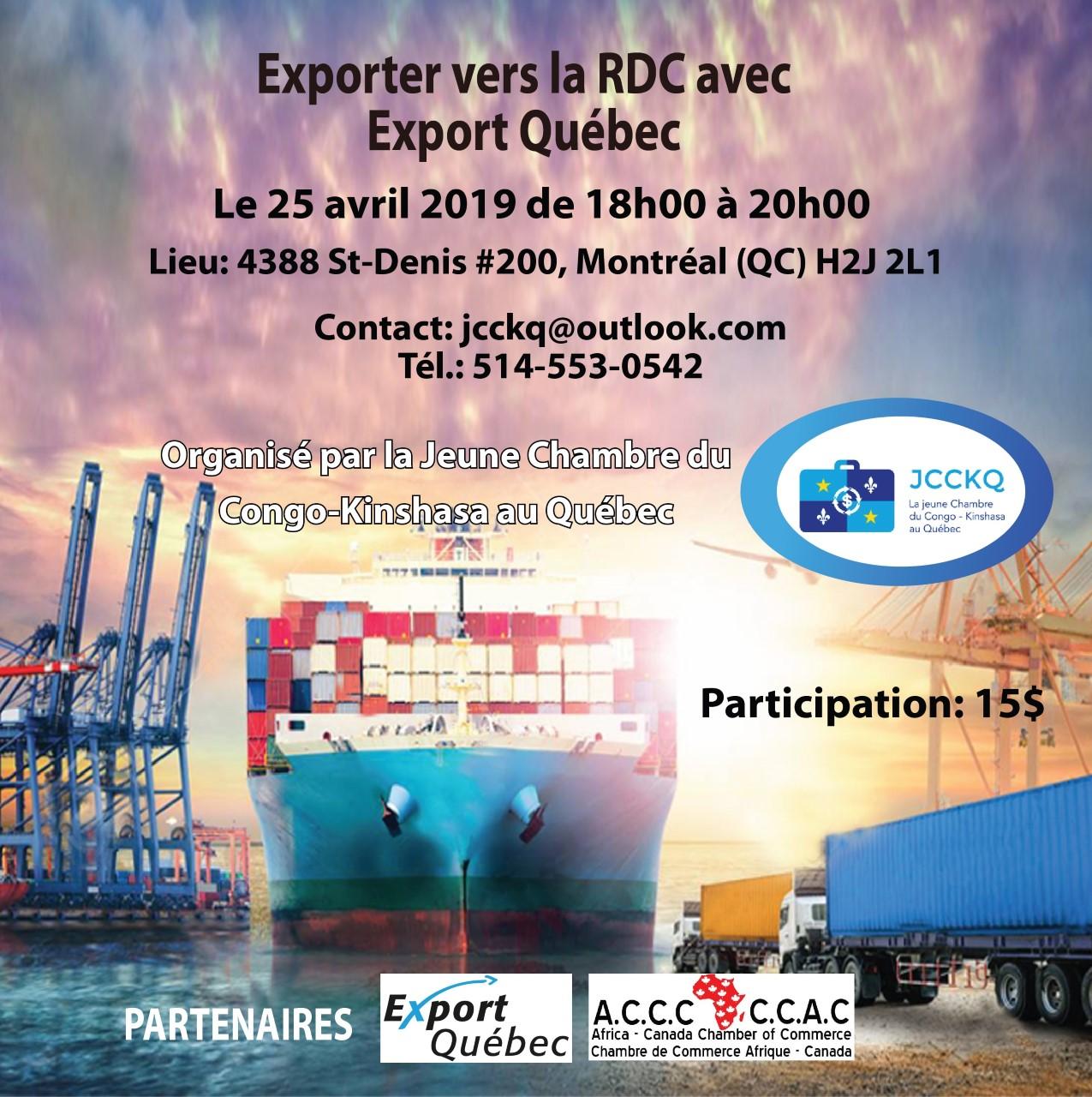Événement avec Export Québec