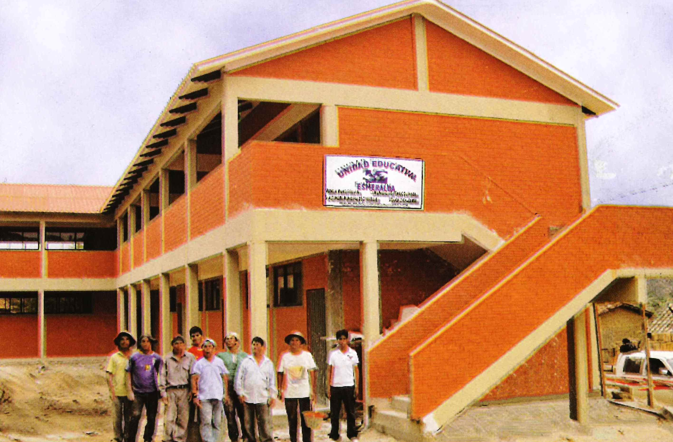 Esmeralda School, built with funds raised at last year's event
