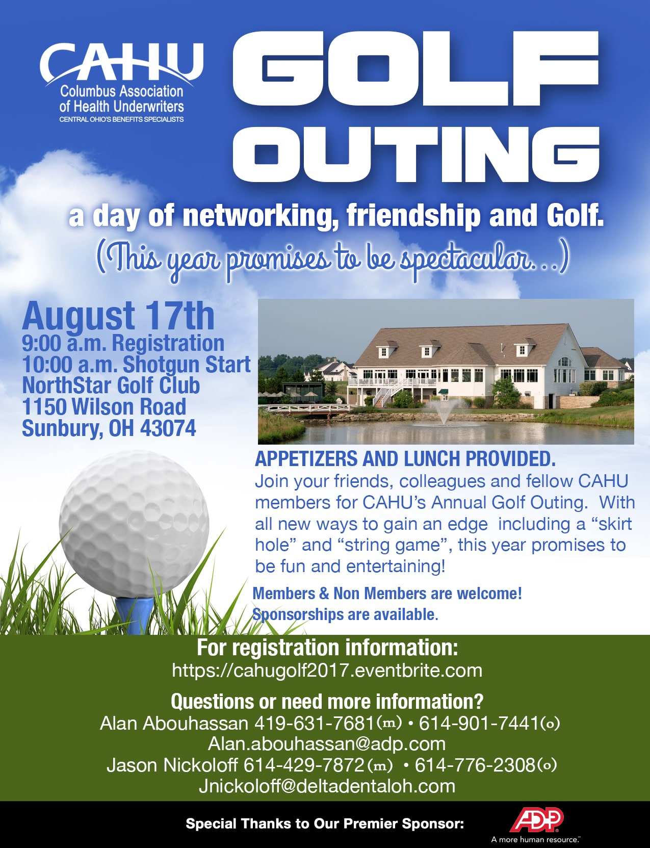CAHU GOLF OUTING