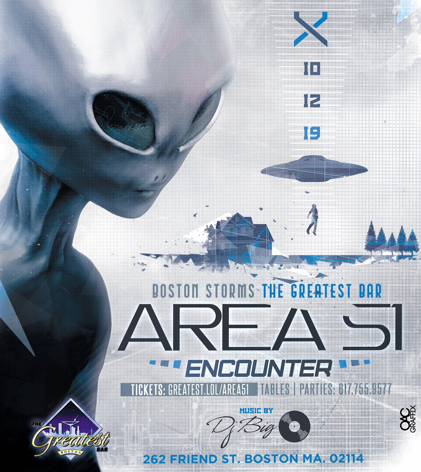 Area 51 PARTY!