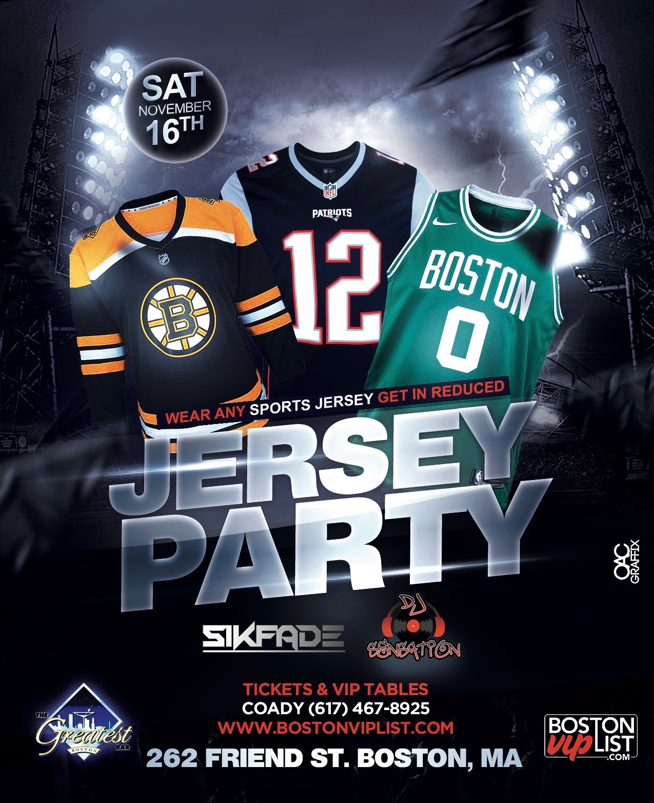 Jersey Party