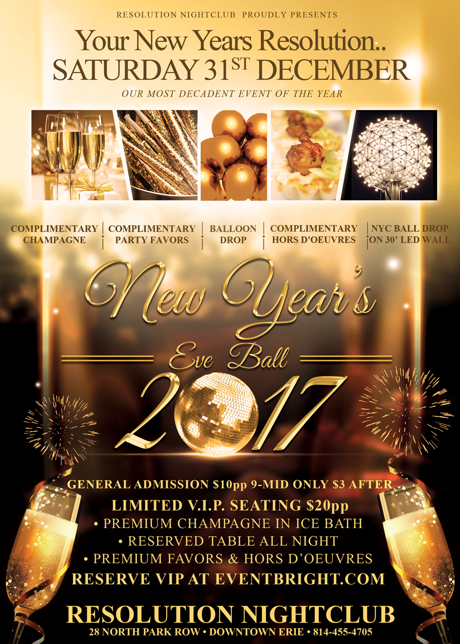 New Years Eve Resolution Nightclub