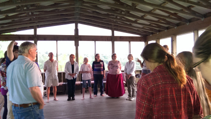 Community Sing with Barbara McAfee at the POI Granary