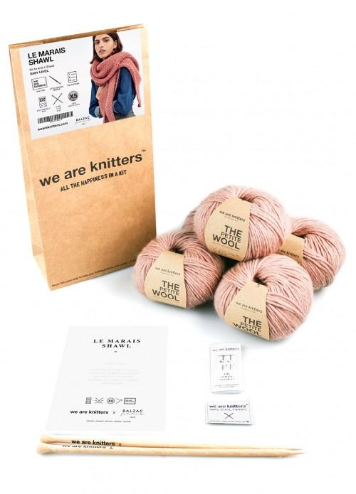 Le Marais Shawl Knitting Kit