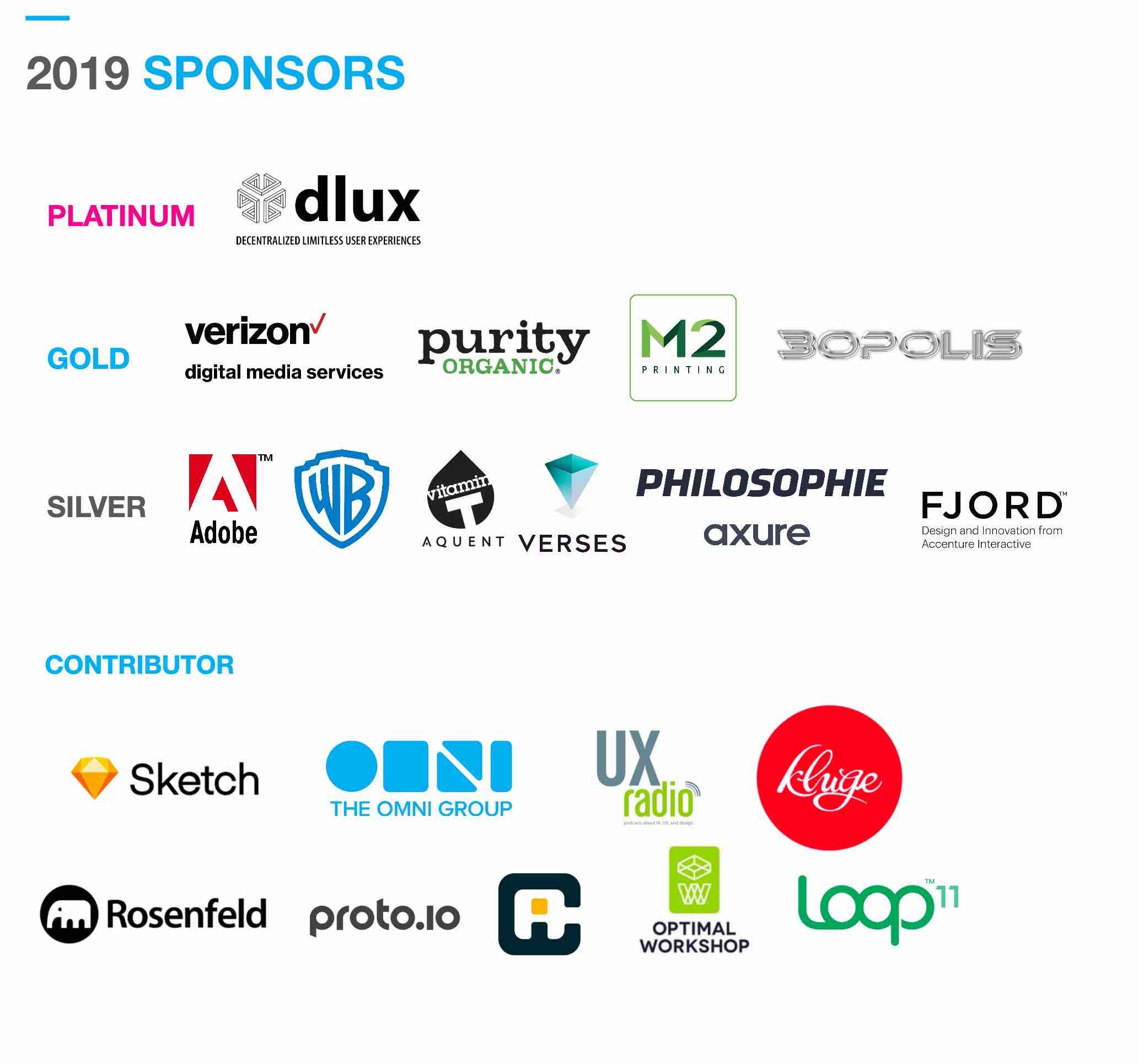 WIAD Los Angeles 2019 Sponsors