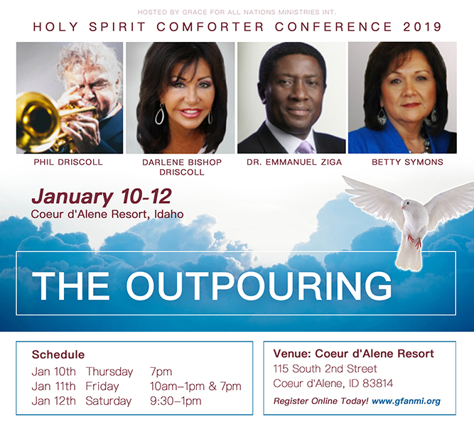 Holy Spirit Comforter Conference 2019