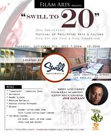 """SWILL TO TWENTY"" - 20th Anniversary Festival of Philippine..."