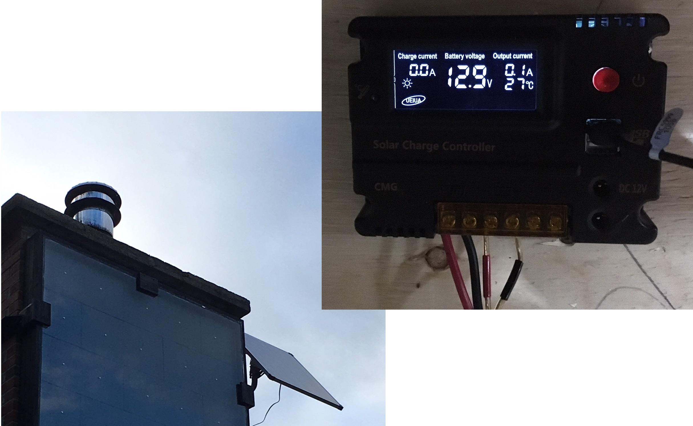 Panneau photovoltaïque 80W & contrôleur