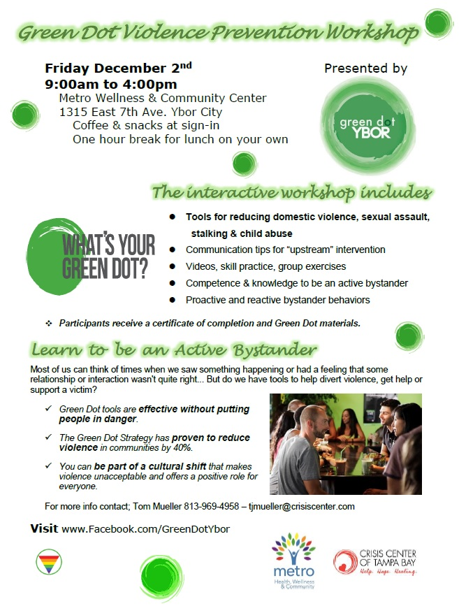 Dec 10 Bystander Workshop