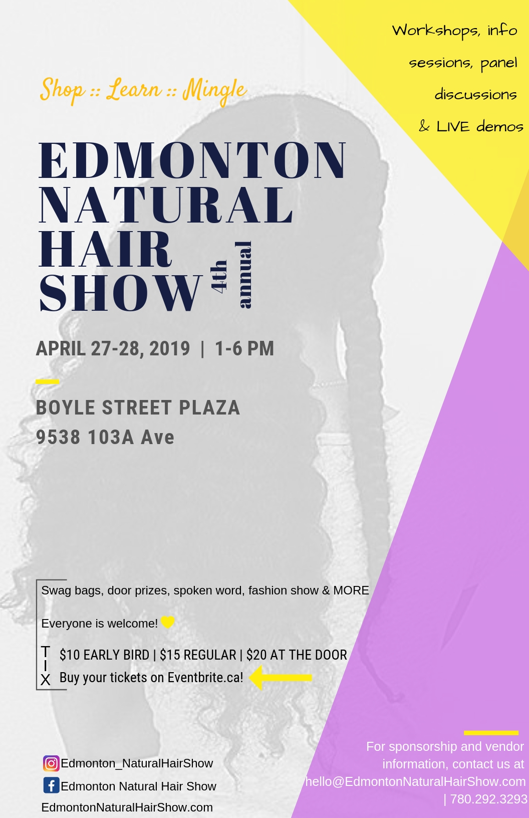Edmonton Natural Natural Hair Show 2019