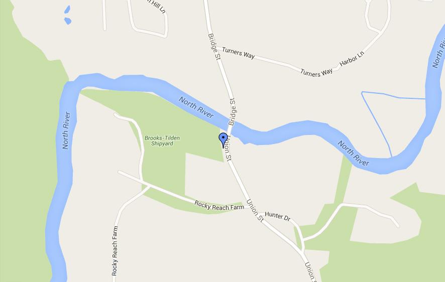 Marshfield Canoe Launch Map