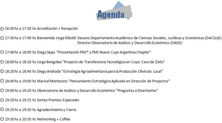 Agenda Jornadas Cuyanas La Rioja 2016