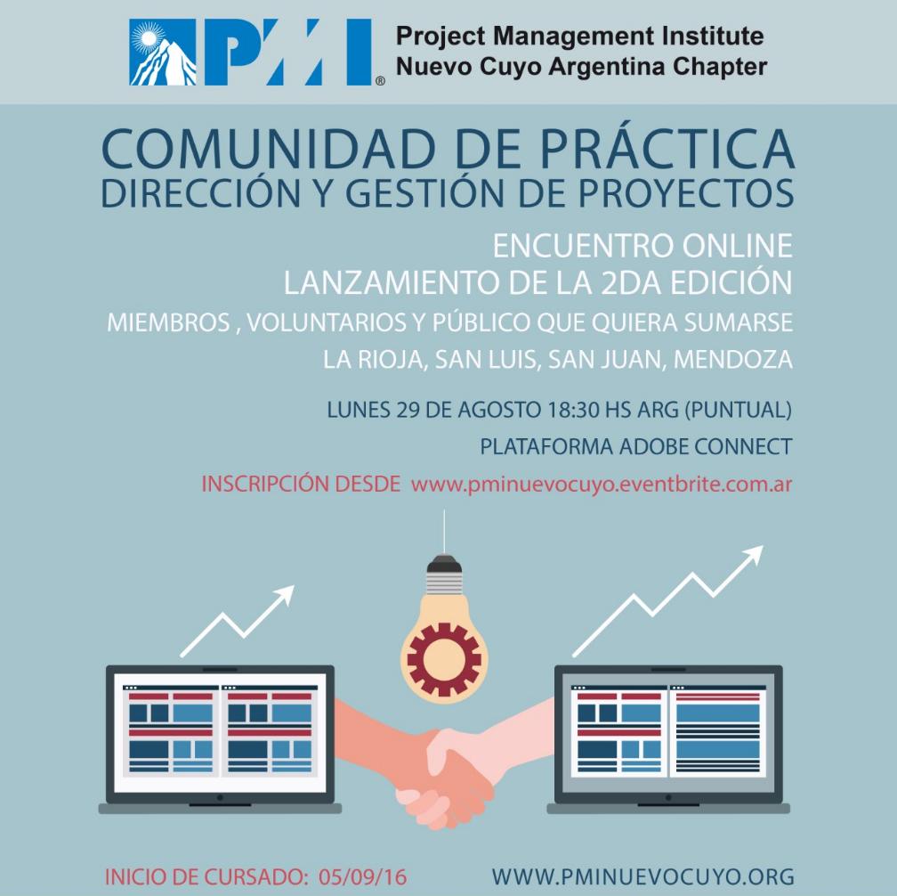 Comunidad de Práctica 2da Edición 2016