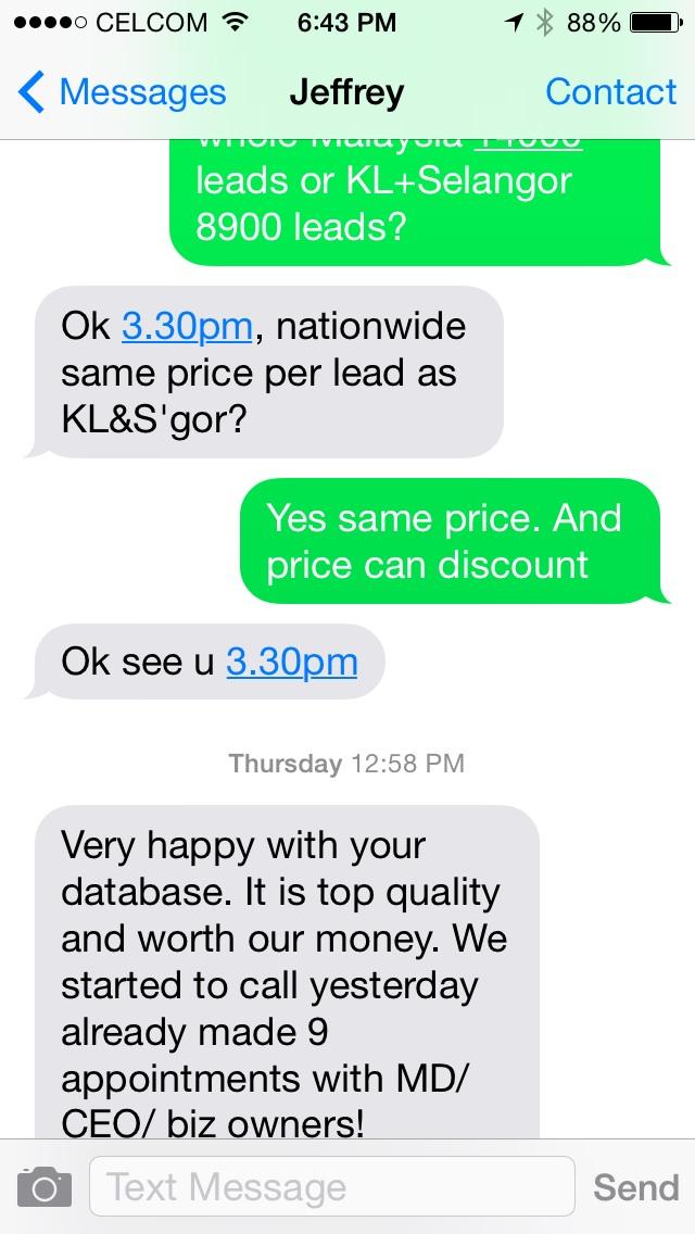 Kuala Lumpur sme database