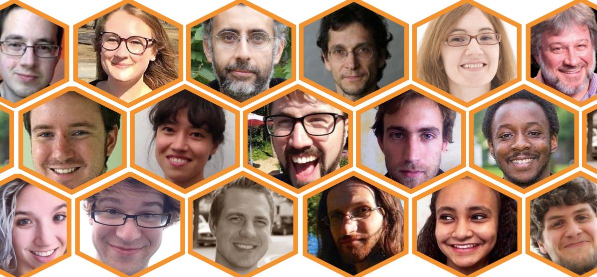 Headshots of Speakers for JupyterDays Boston