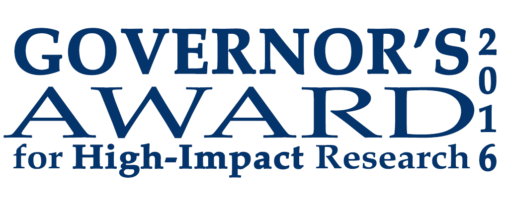 The 2015 Governor's Award for High-Impact Researc