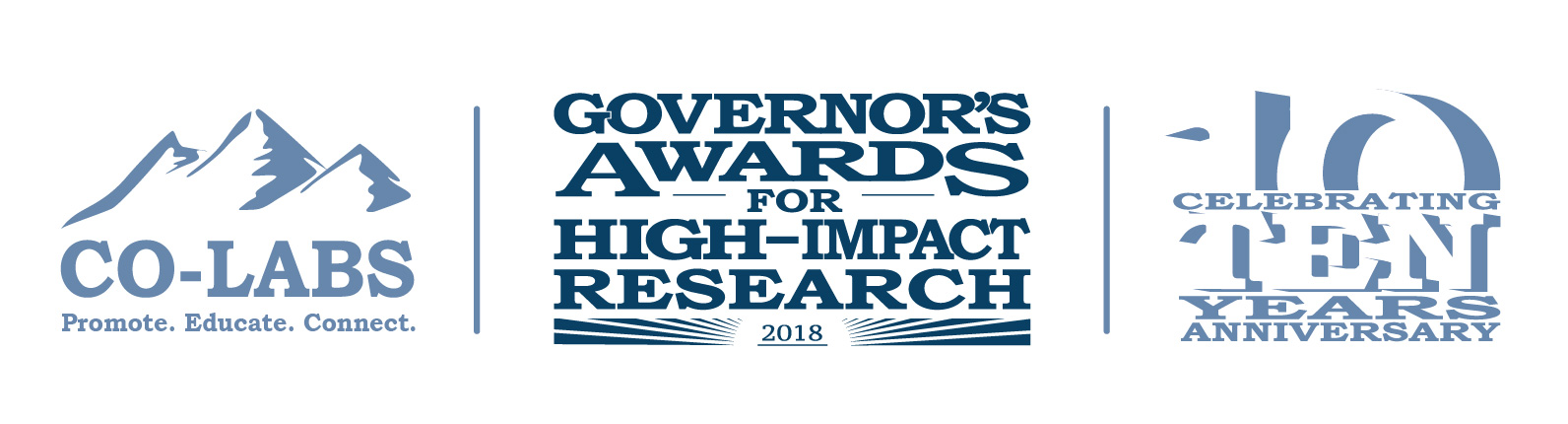 2018 CO-LABS Governor's Awards for High-Impact Research