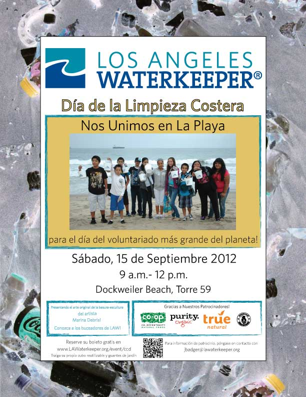 Coastal Cleanup Day en espanol