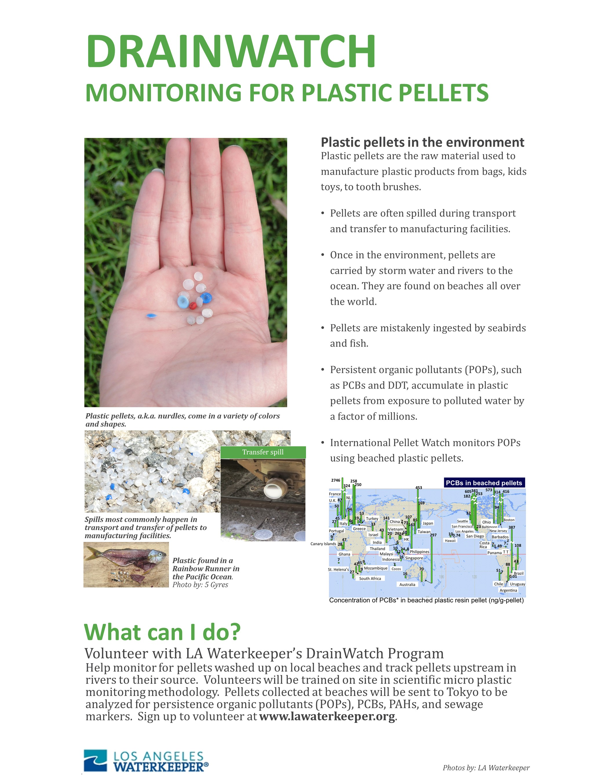 Plastic Pellet Monitoring Flyer